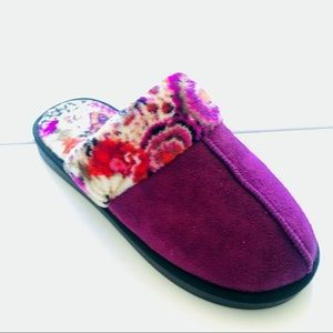 Never Worn! Vera Bradley Cozy Slippers, 9-10